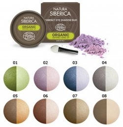Купить NATURA SIBERICA СOMPACT EYE SHADOW DUO в Украине