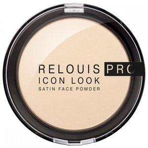 Купить Пудра для лица Relouis Pro Icon Look Satin Face Powder в Украине